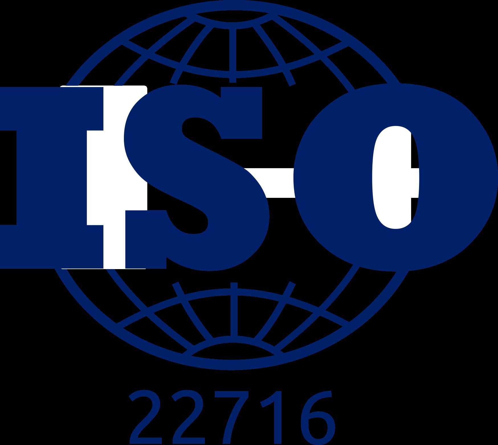 Certificado ISO 22716